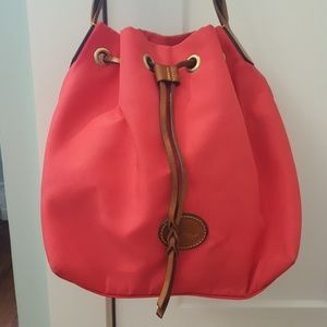 Dooney & Bourke Hot Pink Bucket Bag